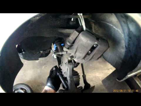 A3 VW Front Wheel Bearing Removing...