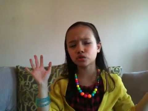 Adele-Set Fire To The Rain sung by 8 year old Anjeli Diack Music Videos