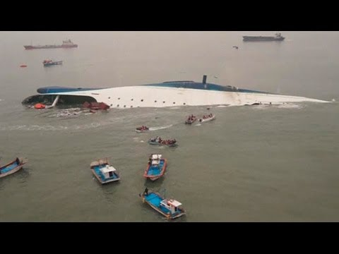 WATCH UPDATED VIDEO: South Korean Ferry Sinks; 9 Confirmed Dead and 287 Missing,[Student]s