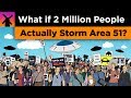 What If 2 Million People Actually Storm Area 51?