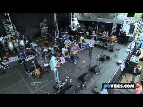 "Leftover Salmon performs ""Steampowered Aeroplane"" at Gathering of the Vibes Music Festival 2014"