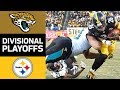 Jaguars vs. Steelers | NFL Divisional Round Game Highlights MP3