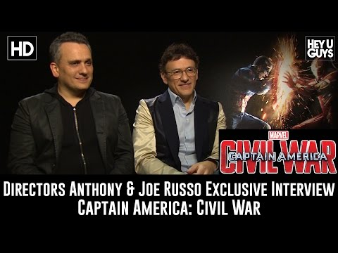 Directors Anthony & Joe Russo Exclusive Interview - Captain America: Civil War