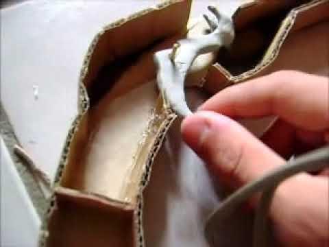 como fazer uma arma de elastico sofisticada