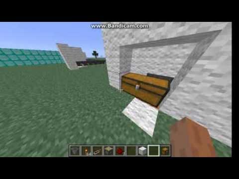 Как сделать так чтобы с воронки вещи попадали в сундук