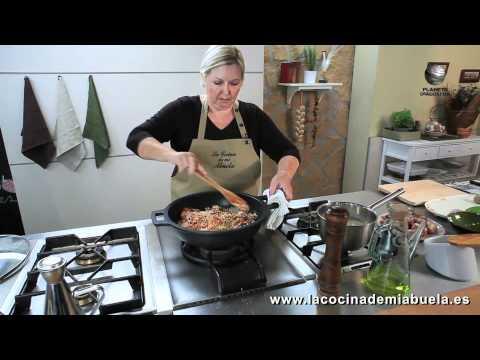 Arroz con conejo - La Cocina de mi Abuela