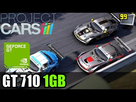 Project CARS on GeForce GT 710 - Can It Run?