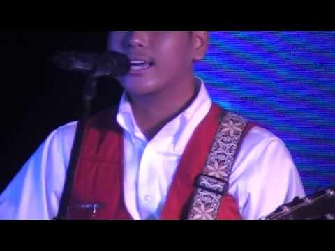 """Mark Anthony Atienza singing """"Ang Ganda ng Bahaghari"""" Official Theme Song of MISS PINAMALAYAN 2013"""