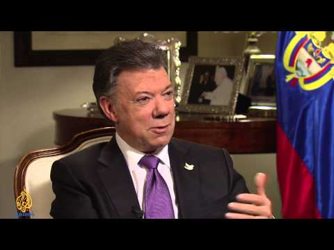 Talk to Al Jazeera - Juan Manuel Santos: 'I want peace'
