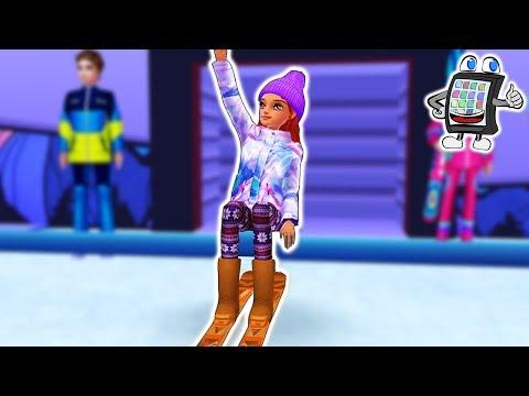 SKI GIRL SUPERSTAR App deutsch | DIE BESTE SEIN bei Wintersport Olympia | Spiel mit mir Games