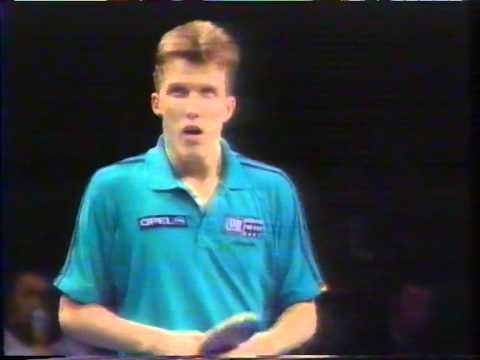 1990 English Open Semi Final: C Xinhua v J Rosskopf