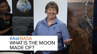 #AskNASA┃ What is the Moon Made of?