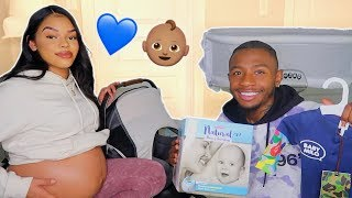 PREPARING FOR OUR BABY BOY TO GET HERE 😍& LUXURY GIVEAWAY!!