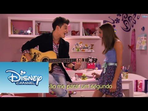 Violetta Momento musical: Federico e Violetta cantam ¨En mi mundo¨
