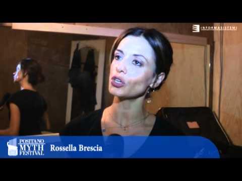 Intervista a  Rossella Brescia dopo lo spettacolo di danza Cassandra