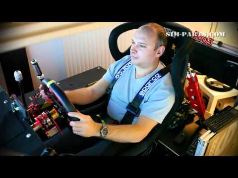 Motion Simulator EVO3 - Testdrive - Race Cockpit (GTR EVO. Eyefinity @ 5760x1080)