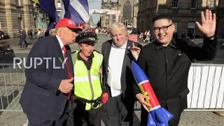 Trump, Kim and BoJo feature in political jazz parody at Edinburgh festival