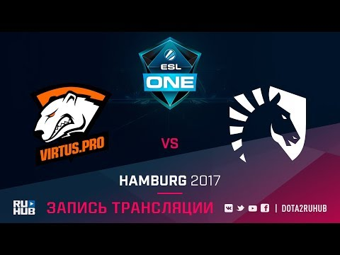 Virtus.Pro vs Liquid, ESL One Hamburg, game 1 [GodHunt, v1lat]