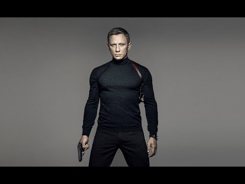 Daniel Craig's 007|Adele-SKYFALL|James Bond Tribute[HD]