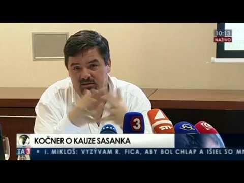 TB Mariána Kočnera o kauze Sasanka - YouTube