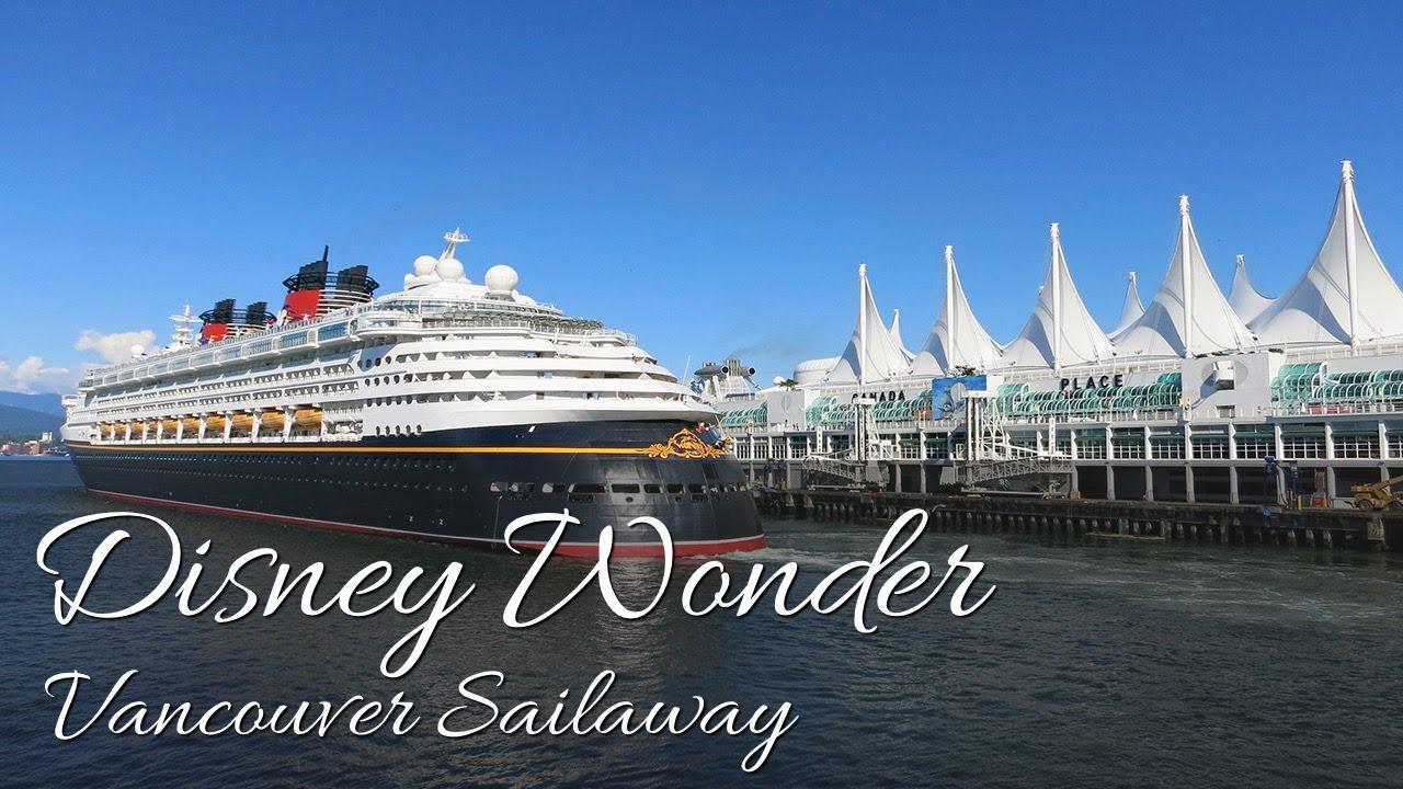 Disney Cruise Line Disney Wonder To Alaska Disney