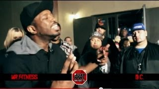 Texas Rap Battle of the Year 2012 - Mr Fitness vs BC | Texas vs New Orleans