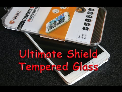 Ultimate Shield Tempered Glass - Samsung Galaxy Note 4 (Screen Protector)
