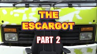 The Escargot - RV/Camper Car Transporter Conversion - Part 2
