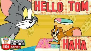 Tom and Jerry 2017 Games \Tom And Jerry - Baking cake \ Baby Games ღ #LITTLEKIDS