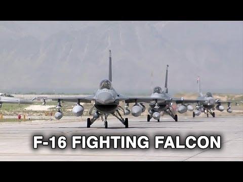 F-16s Landing/Taxiing at Bagram Airfield, Afghanistan | AiirSource