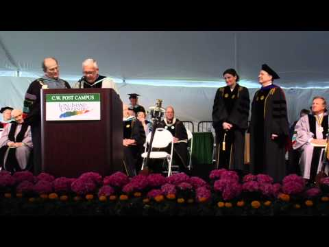Idina Menzel Receives Honorary Doctorate of Arts at C.W. Post Campus of Long Island University
