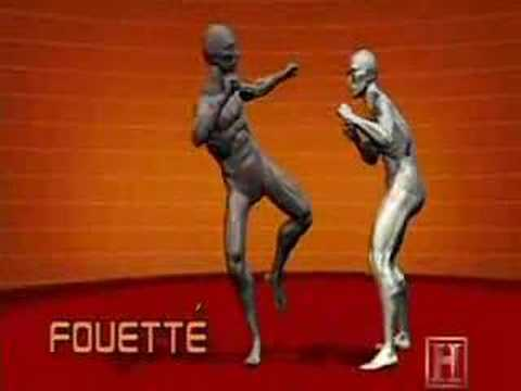 Human Weapon Savate - Fouette, High Whip Kick Image 1