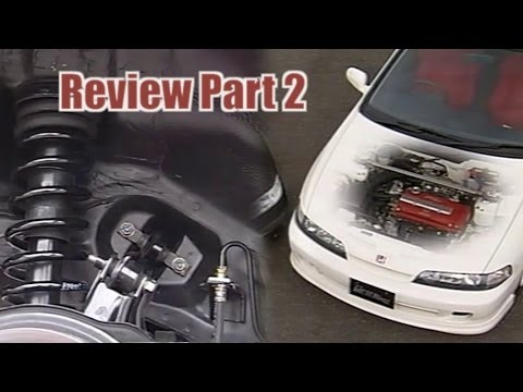 [ENG CC] Integra Type R DC2 - Review Part 2 - Chassis and B18C Engine Improvemets 1995