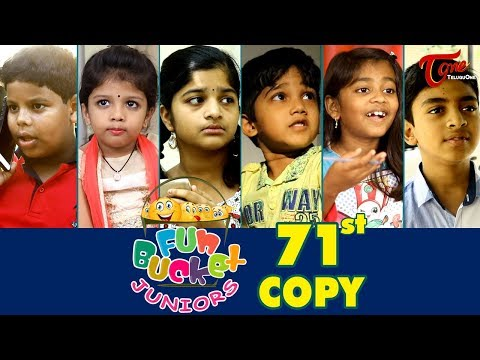 Fun Bucket JUNIORS | Episode 71 | Kids Funny Videos | Comedy Web Series | By Sai Teja - TeluguOne thumbnail