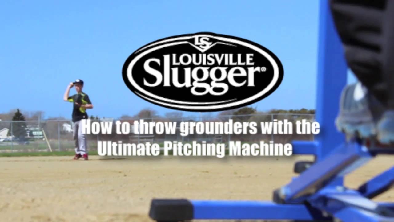louisville slugger baseball pitching machine