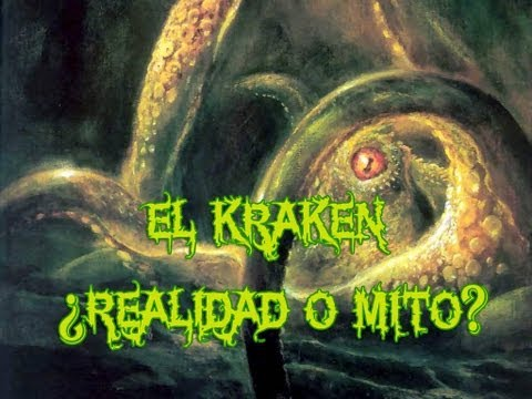 El Kraken realidad o mito?