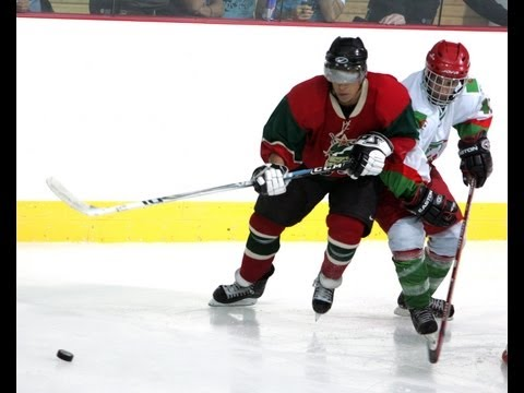 Algeria vs Morocco - Arab Cup Ice Hockey - 18/06/08 (Full Game)