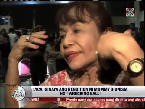 Lyca, Mommy D in 'Wrecking Ball' showdown