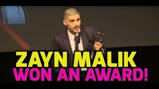 Download Lagu Zayn Malik thanks One Direction in acceptance speech (FULL) Gratis STAFABAND