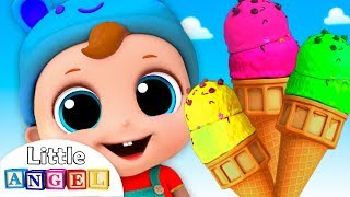 Ice Cream Song | Nursery Rhymes by Little Angel