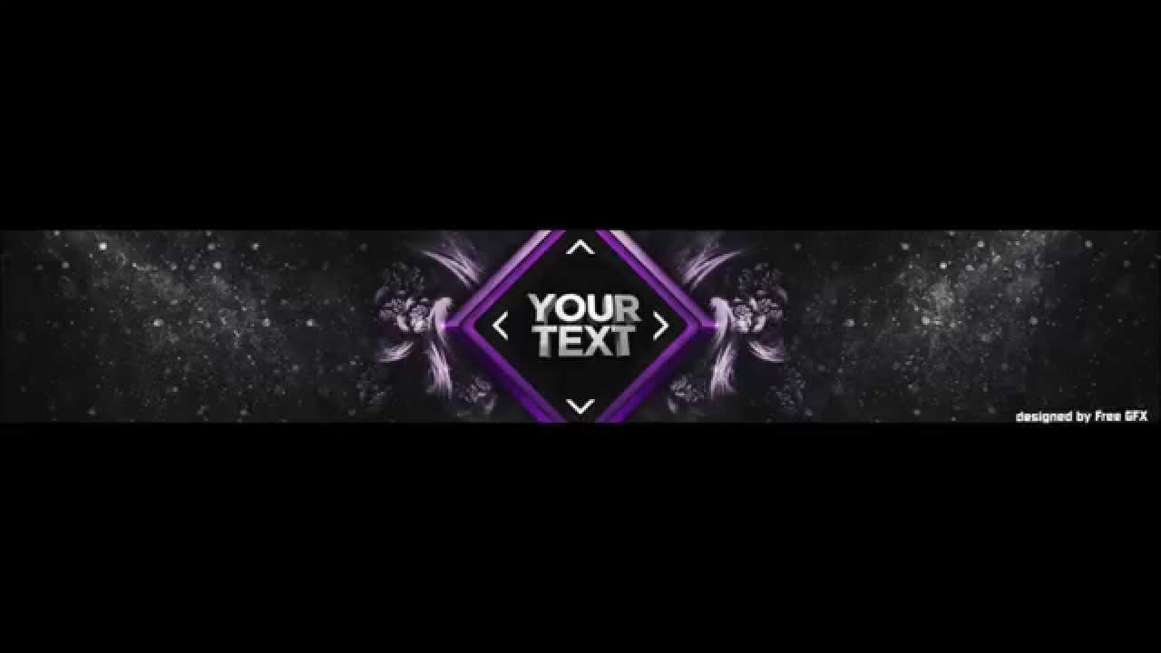 free youtube banner template photoshop free download by freegfx youtube. Black Bedroom Furniture Sets. Home Design Ideas