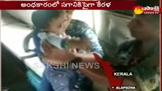 Kerala flood Air Force Rescues A Toddler From Rooftop -- రియల్ హీరో.. ఓ బాలుడిని కాపాడేందుకు - netivaarthalu.com