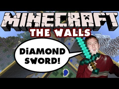Minecraft - The Walls - Diamond Sword video