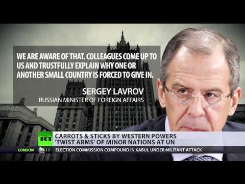 Lavrov: No Russian isolation in UN vote on Crimea