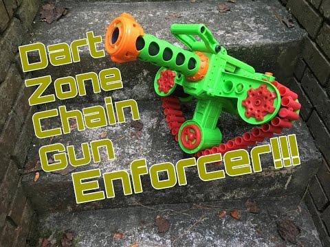 Honest Review: The Enforcer Chain Gun (Dart Zone's $30 Flagship)