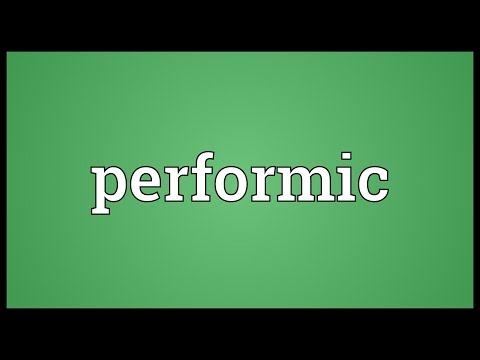 Header of Performic