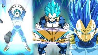 "Vegeta Blue Evolution! ""Pure Saiyan"" Category Team Showcase! | DBZ Dokkan Battle"
