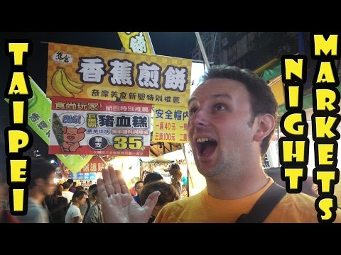 Best Night Markets in Taipei Taiwan
