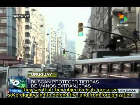 Uruguay discussing bill to protect land from foreign explotaition