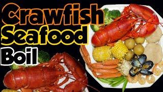 Crawfish Seafood Boil Crabs